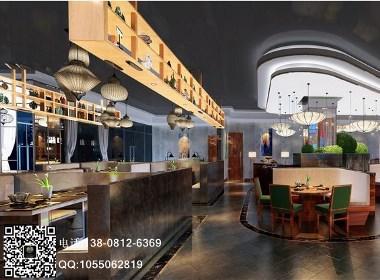 臻口福素食餐厅-成都素食餐厅设计|成都素食餐厅装修公司|攀枝花素食餐厅设计公司