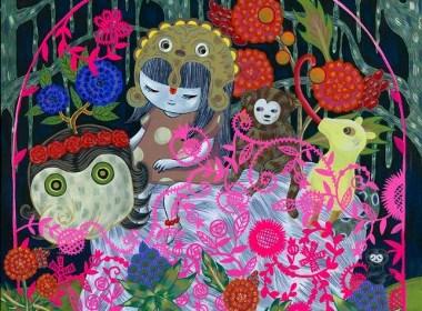 日本艺术家:Aya Kakeda绘画作品