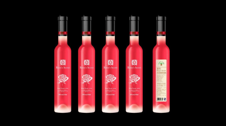 Rossy's Secret-玫瑰饮品包装-万城文化