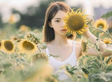 向日葵—人像摄影