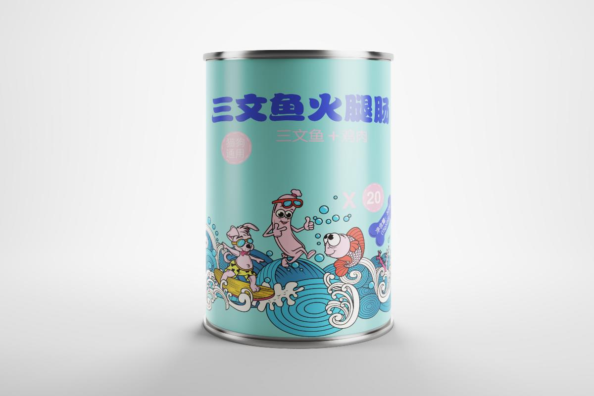 狗粮大礼包+火腿