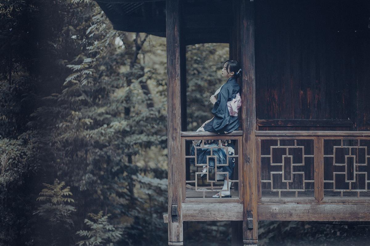 《辞世》—人像摄影