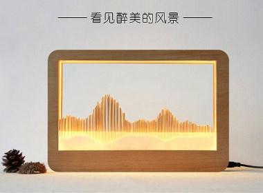 台灯——最美的风景