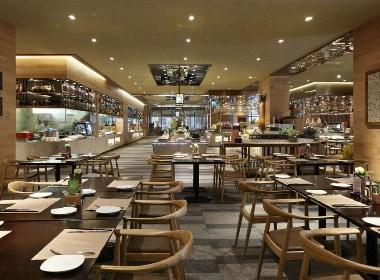 成都中餐厅设计丨成都中餐厅装修-食全食美自助餐厅