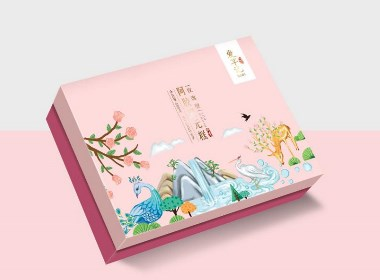 阿膠糕包裝設計/阿膠糕紅糖食品包裝,vi設計