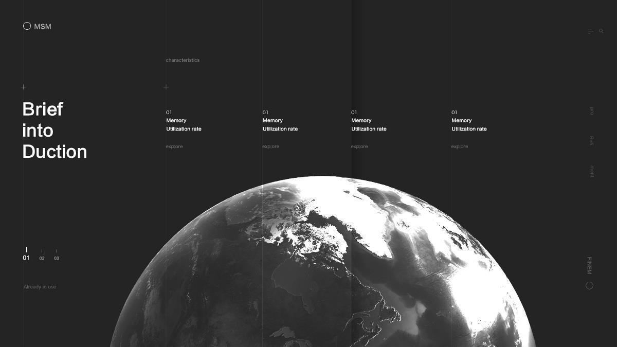 栅格化页面设计练习
