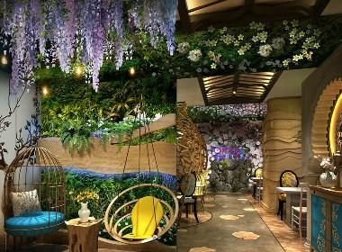 阿廖家泰式海鲜餐厅设计-成都特色海鲜餐厅设计公司