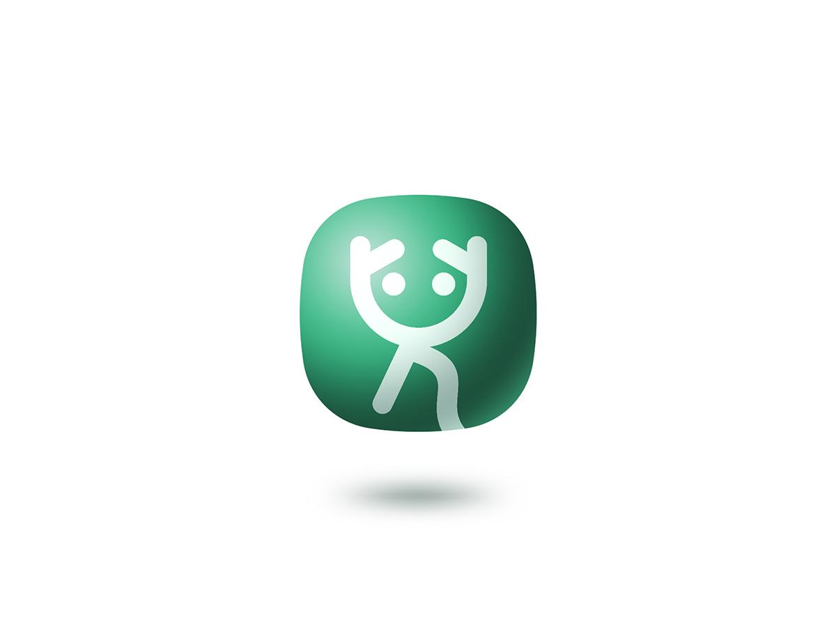 赛狮设计丨创艺少儿教育logo设计