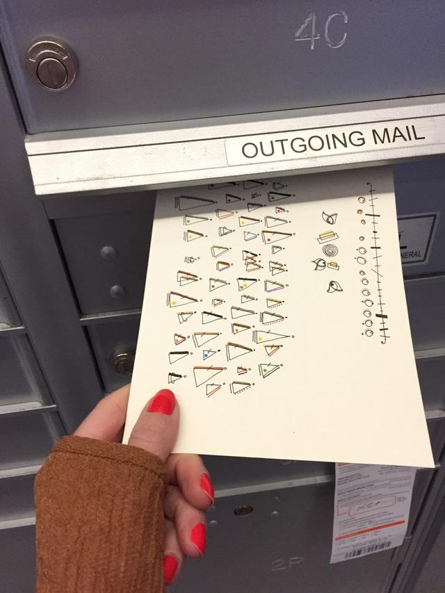 寄明信片的最高境界!