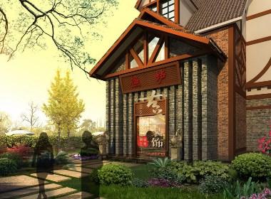 南湖渔卢海鲜餐厅设计-成都专业海鲜餐厅设计公司