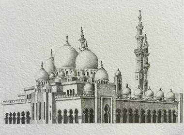 一眼看透清真寺的庄严华丽