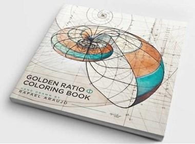 黄金比例手绘着色本的另类疗愈