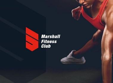 April作品「 马歇尔Marshall 」健身俱乐部品牌设计