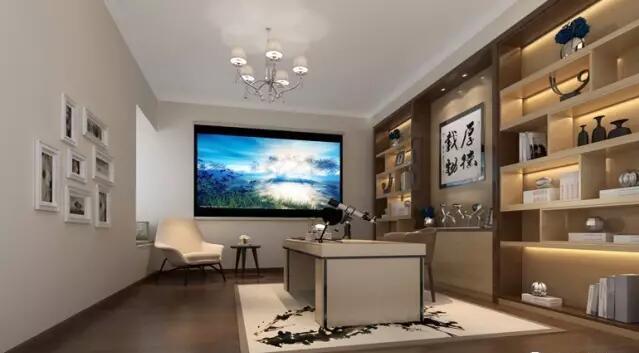 建业春天里别墅装修260平新中式风格样板间欣赏