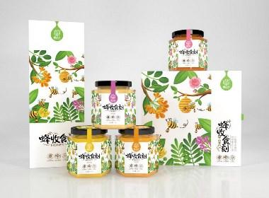 蜂之谷品牌-蜂蜜系列包装设计(已商用)