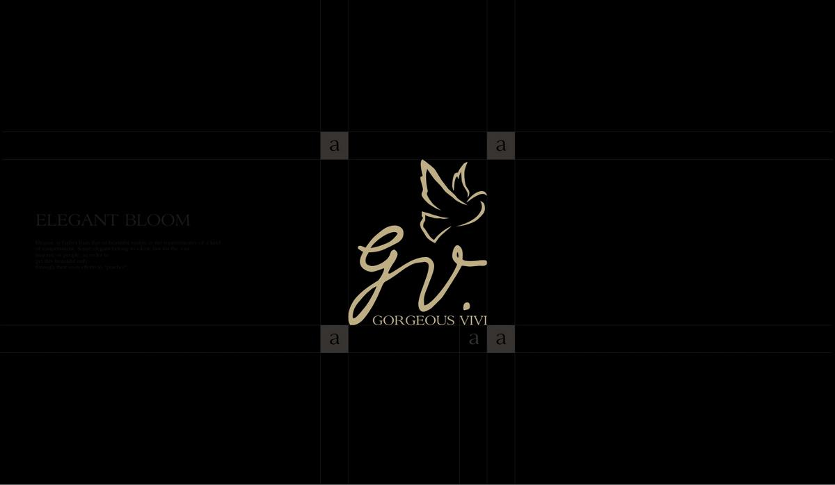 歌薇logo设计