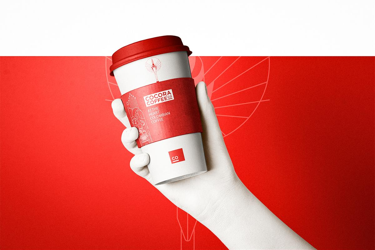 cocora咖啡品牌包装设计
