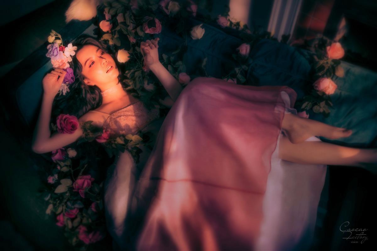 Flowers—人像摄影