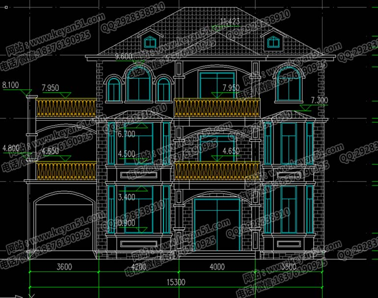本户型房屋属于简约风格,整体造型简单合理,布局合理,功能齐全,建筑结构对称,注重整体对称美,符合我国建筑标准。主卧空间均带内卫,增加了居住的便利性,给人营造更舒适自然的居住环境。窗户的设计使得房子通风良好、采光也极好,南北通透,车库上方可建起围栏,做成阳台、露台,不会造成空间浪费。