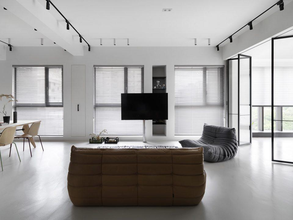 灰色系打造的现代居所