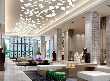 郑州专业的主题酒店设计公司分享佛山陶瓷艺术主题酒店设计案例