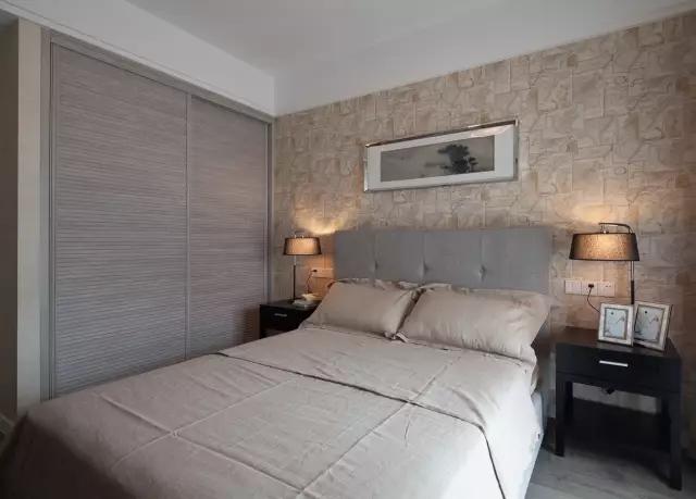 正商华钻装修效果图120平现代简约风格三室两厅设计案例---次卧