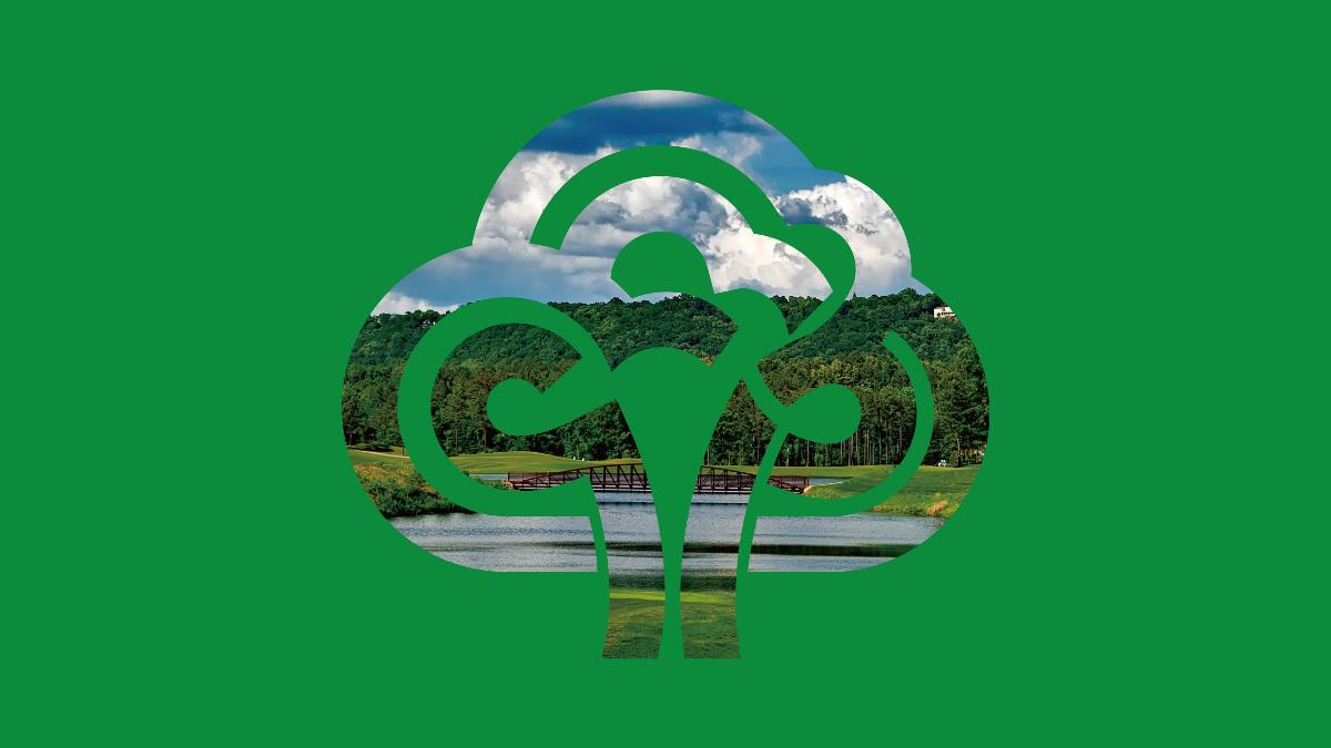 万碧园林 品牌标志设计 | 华慕品牌设计-中国设计网