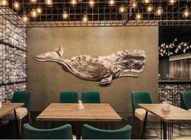 成都海鲜主题餐厅装修设计|成都专业餐厅装修设计公司|古兰装饰