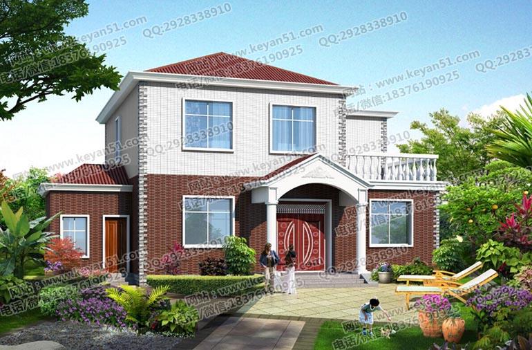 20万元左右农村自建房设计图 农村房房屋设计图