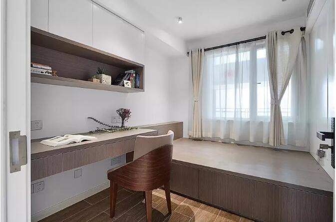 锦绣山河138平现代简约风格三居室装修需多少钱
