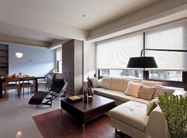 锦艺金水湾130平简约风格17年实景样板间设计