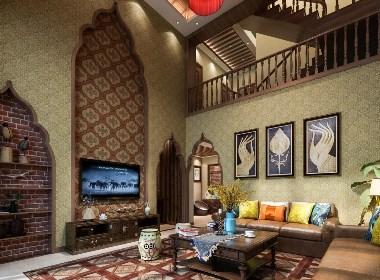 景逸效果图设计——家装泰式效果图