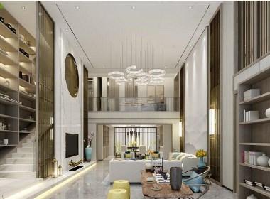 天伦庄园360平别墅大宅新中式风格装修需要多少钱