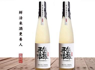 知行天下出品:手造活酿 鲜活米酒更养人