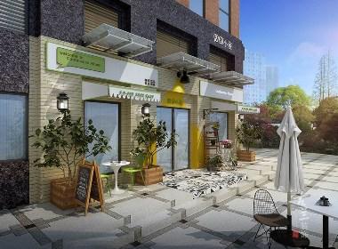 成都专业咖啡厅装修设计|成都咖啡厅装修设计公司-古兰装饰-都小清晰现代装修风格囧囧小屋