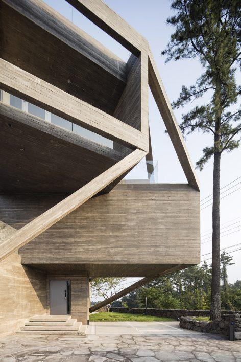 济州岛简单住宅设计