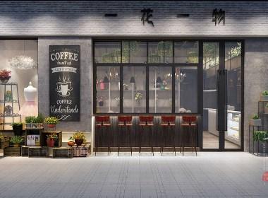 成都咖啡厅装修设计 成都咖啡馆装修风格 成都咖啡厅设计-花艺咖啡馆