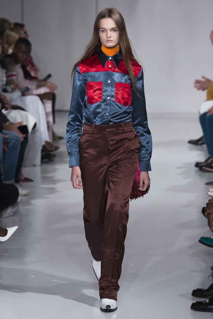 Calvin Klein 2018春夏系列时装秀