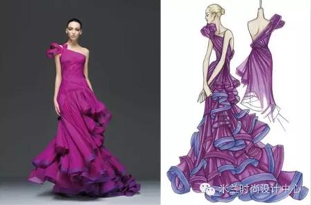 婚纱设计的学习与欣赏