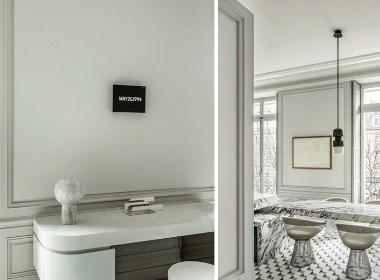 """""""画廊""""公寓 Avenue Montaigne--欧模网分享"""