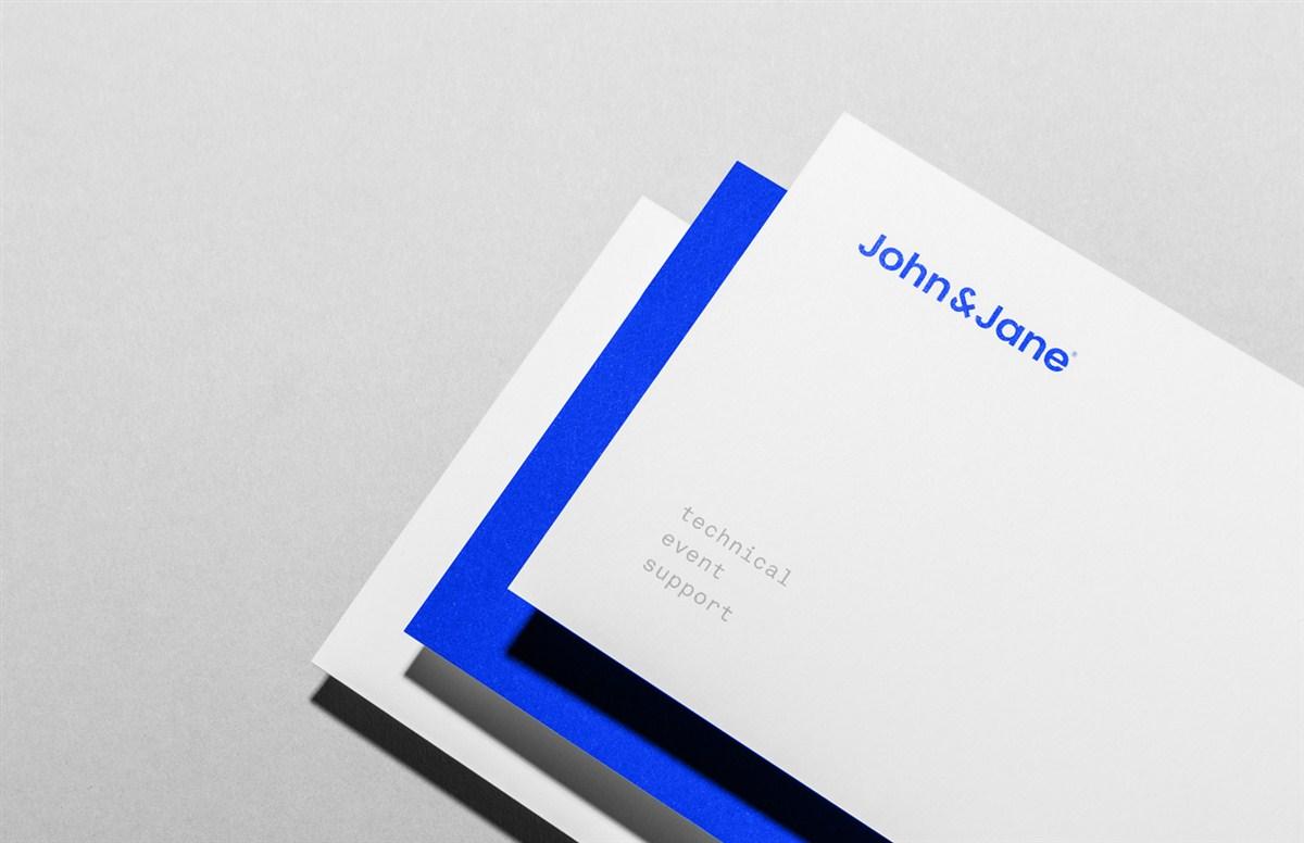 john and jane 活动品牌形象设计