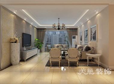 建业森林半岛156平四室两厅现代简约装修样板间设计