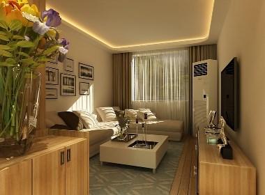新乡60平两房装修,超高逼格超舒适的简约设计