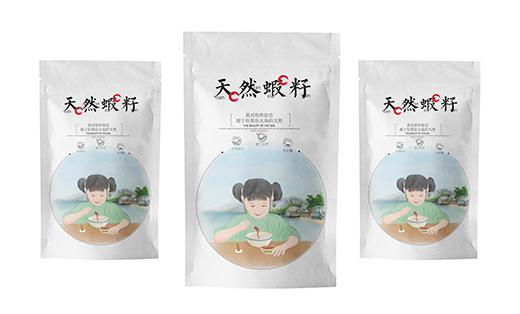 天然虾粉包装设计 虾粉包装 食品包装 食品添加剂 虾包装