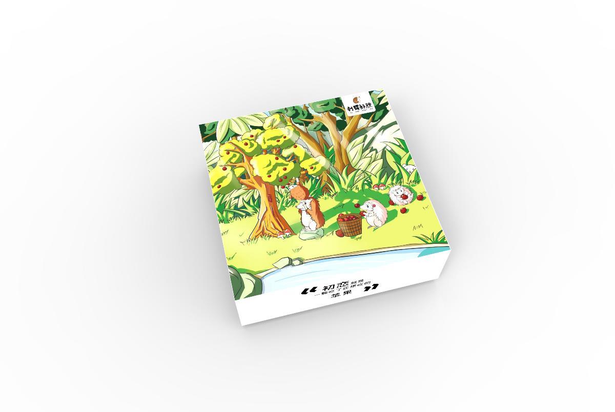 生鲜包装设计 苹果包装 樱桃包装 水果包装