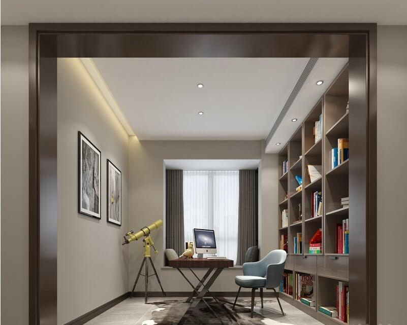 东润泰和270平轻奢现代风格别墅装修样板间