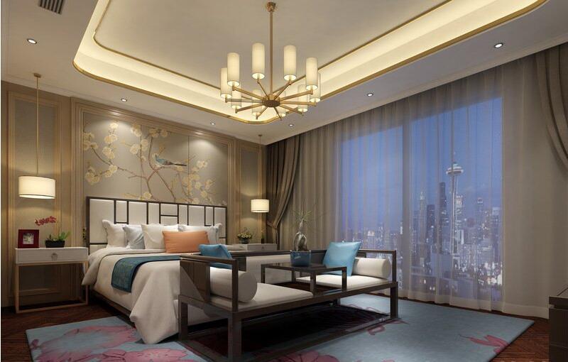 瀚海晴宇190平新中式风格大平层装修需要多少钱