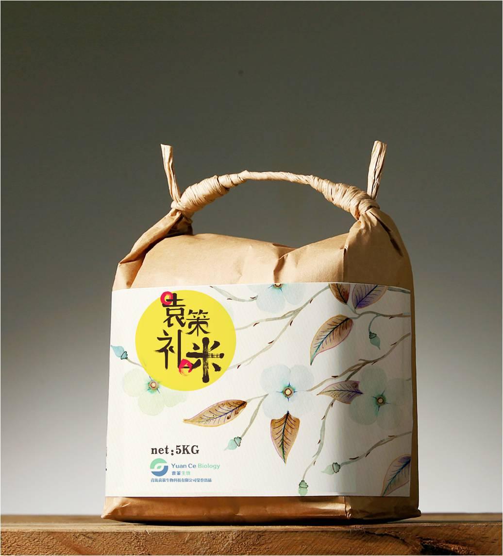袁策礼米包装设计