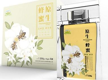 原生蜂蜜包装设计