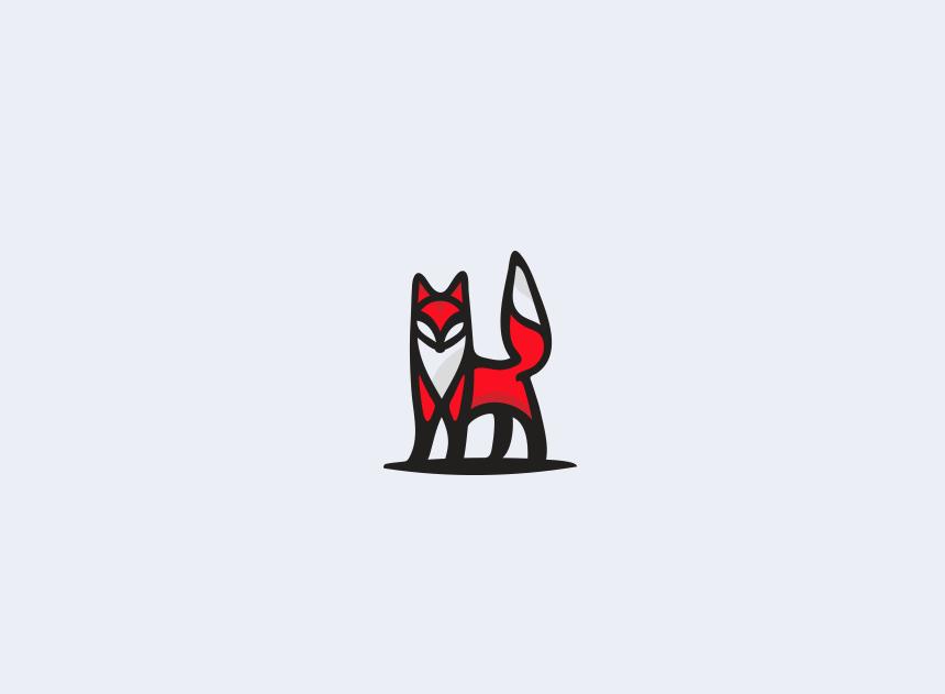 一组国外动物元素的创意Logo设计(三)